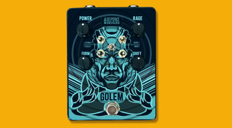 overdrive pedal Deep Space Devices Golem