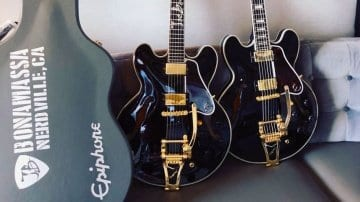 Epiphone Joe Joe Bonamassa 335 teased on Twitter