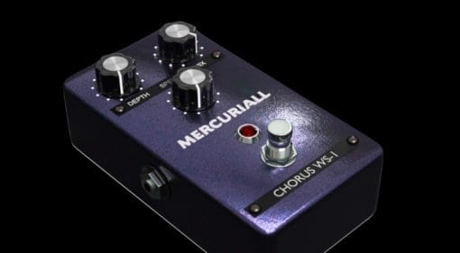 Mercuriall Audio WS-1 Chorus plug-in