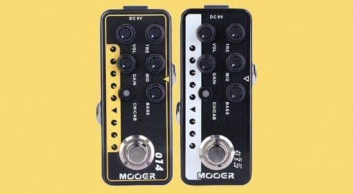 Mooer's new Taxidae Taxus and Brown Sound preamps