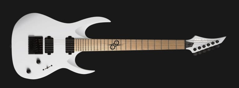 Solar Guitars A1.6ET in White Matte