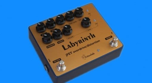 TritonLab Labyrinth Dual Channel Overdrive:Distortion pedal