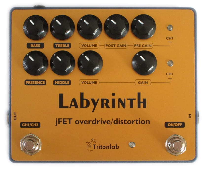 TritonLab Labyrinth Dual Channel Overdrive:Distortion