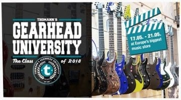 Gearhead University with Thomann