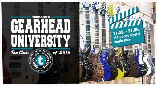 Gearhead University with Thomann