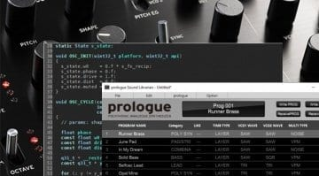 Korg Prologue SDK