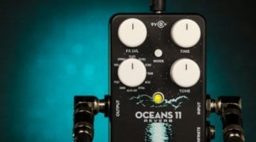 EHX Oceans 11 Reverb pedal