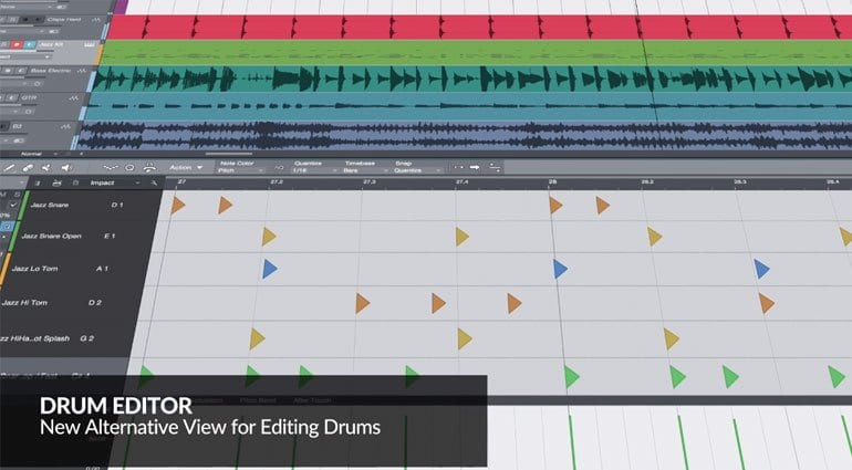 PreSonus Studio One 4 Drum Editor