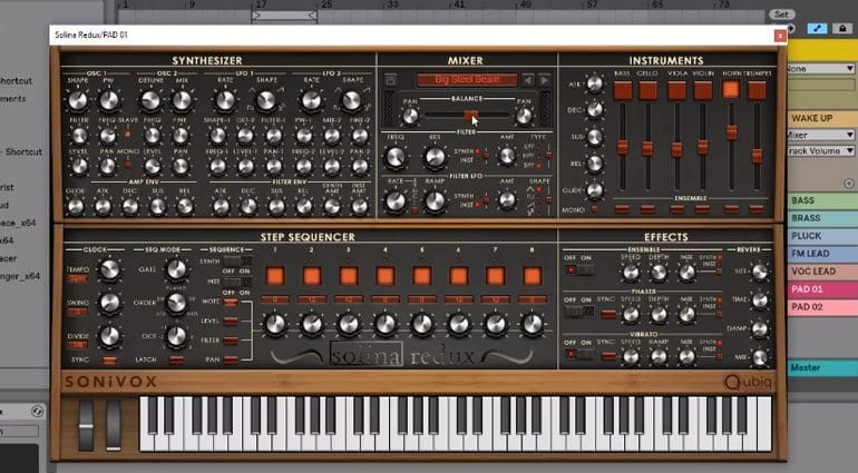 SONiVOX blend Arp Solina Strings with analog synthesis and a dash of