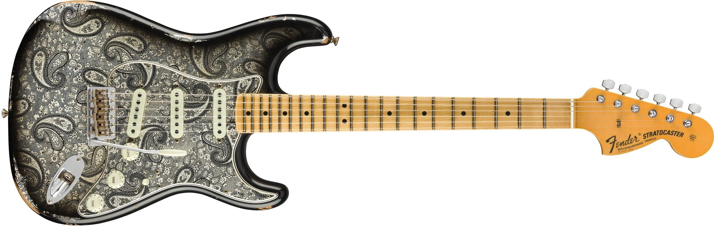 Fender Custom Shop 2018 Limited 1968 Black Paisley Stratocaster