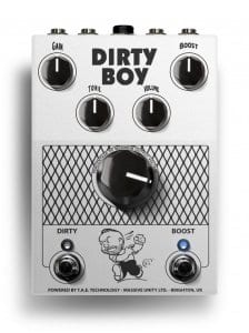 Massive Unity DIRTY BOY Preamp pedal