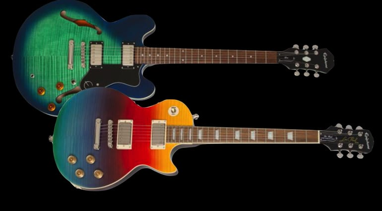 Epiphone Prizm Les Paul Tribute and Limited Dot Deluxe