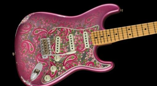 Fender Custom Shop 2018 Limited 1968 Pink Paisley Stratocaster