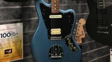 Fender Player Jaguar PF Tidepool leaked!