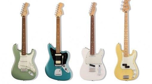 Fender Player Series Stratocaster Telecaster Precision Bass Jaguar