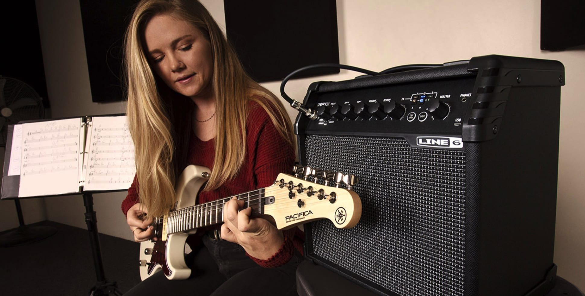 Line 6 Spider V 20 the perfect practise amp?