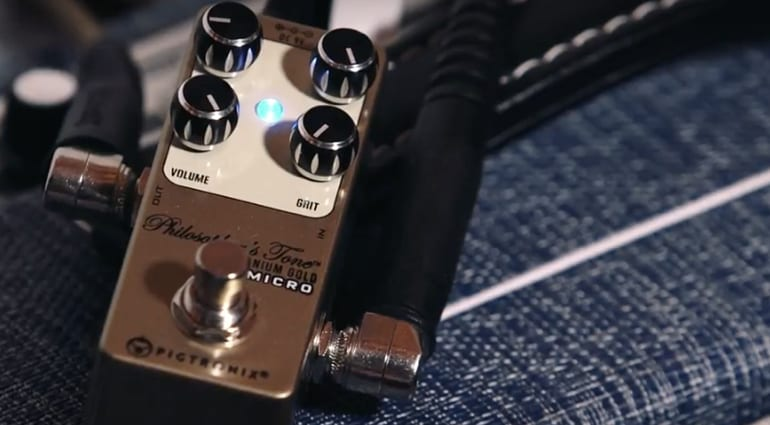 Pigtronix Philosopher's Tone Germanium Gold Micro compressor