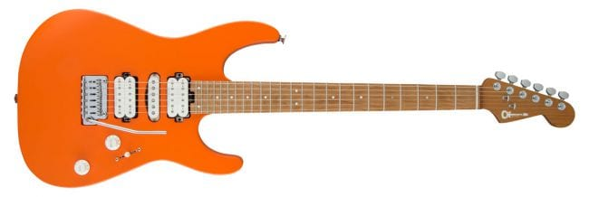 Charvel Pro-Mod DK24 HSH 2PT CM Satin Orange Crush