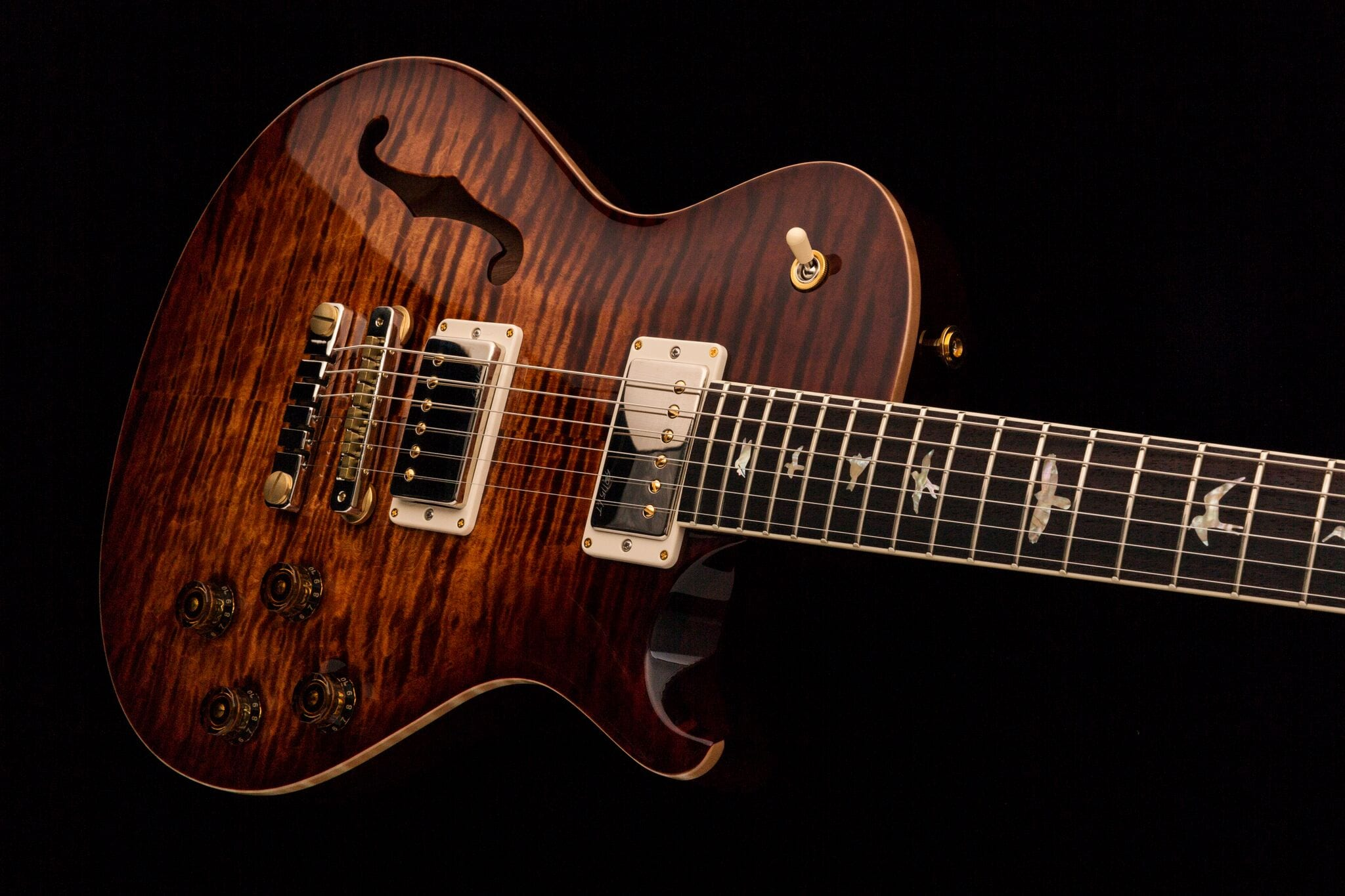 PRS Singlecut McCarty 594 Semi Hollow Copperhead Burst