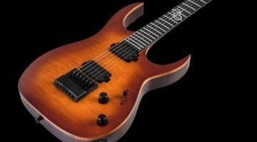 Solar Guitars' all-mahogany S1.6ET LTD