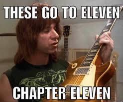 Gibson 'Chapter 11' meme