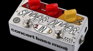 Zvex Super Duper Concert Bass Mod pedal
