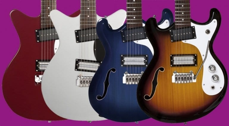 Danelectro '59X, '59XT, '66T and '66BT