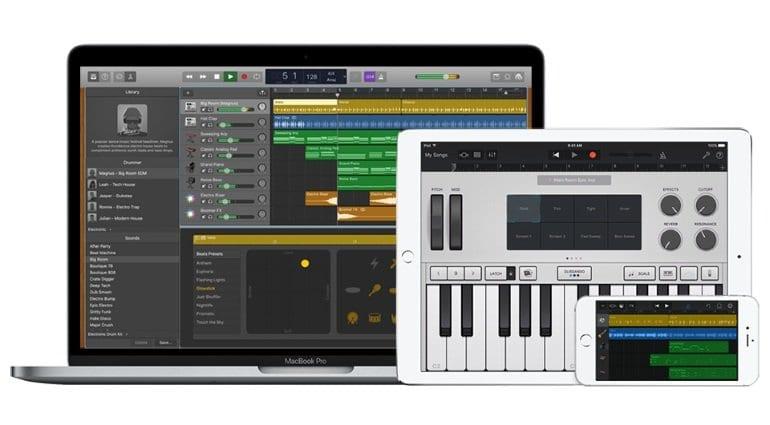 apple updates garageband with new drummers mellotron sounds. Black Bedroom Furniture Sets. Home Design Ideas