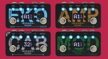 Hotone Binary Effects pedals