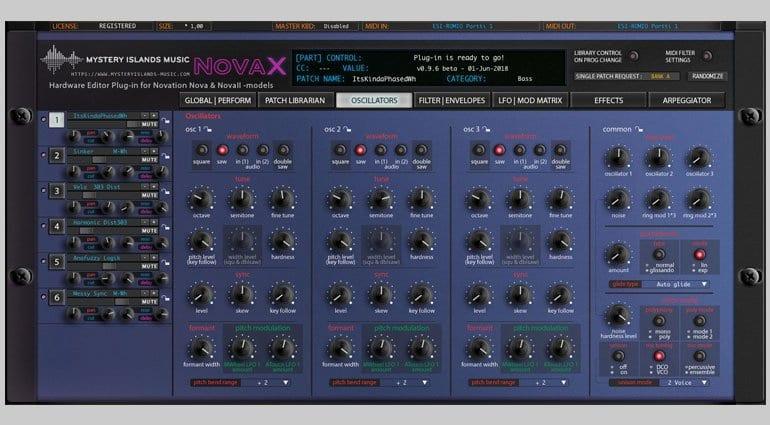 Mystery Island Music NovaX