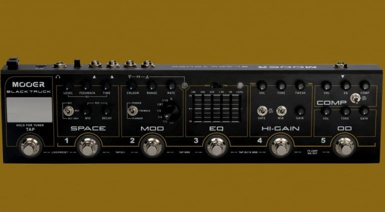 Mooer Black Truck multi-effects