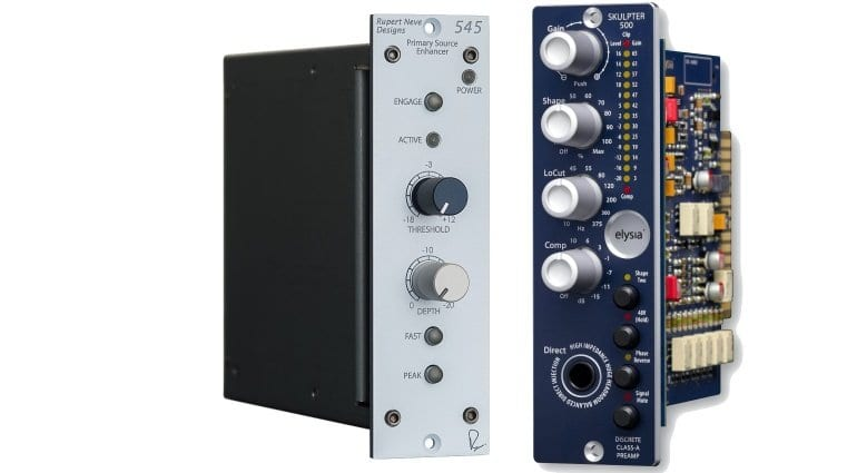 Rupert Neve Designs 545 and Elysia skulptor 500