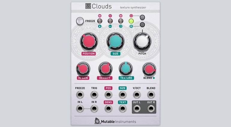 Mutable Instruments Clouds for Softube Modular