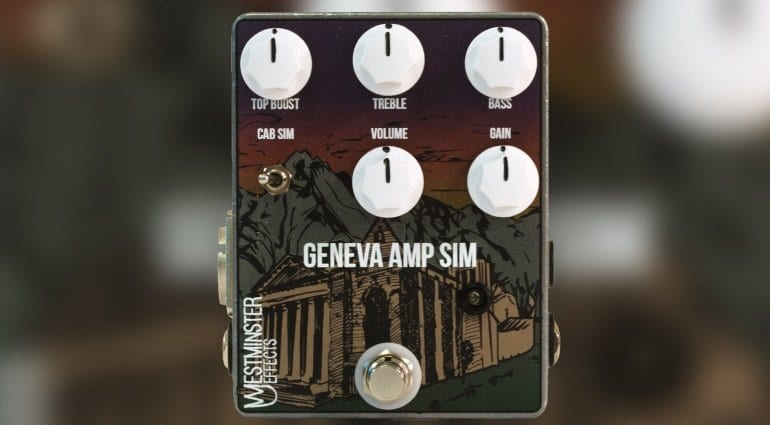 Westminster Effects Geneva pedal