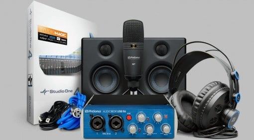 PreSonus Audiobox Studio Ultimate Bundle featured