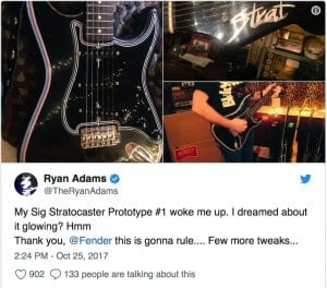 Ryan Adams Twitter tease
