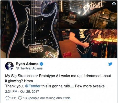 Ryan Adams Twitter tease