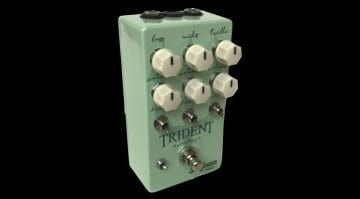 Seafoam Pedals Trident Overdrive pedal