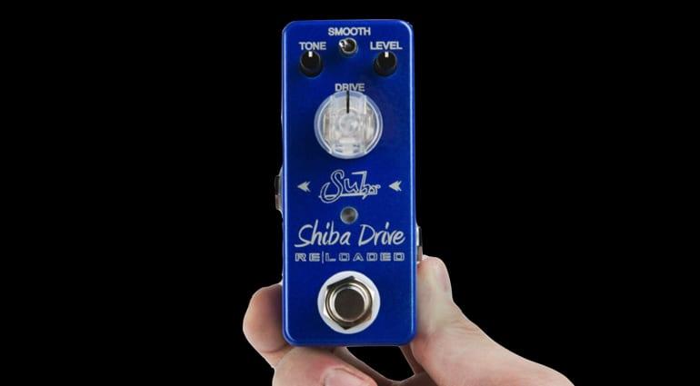 Suhr Shiba Drive Reloaded Mini overdrive pedal