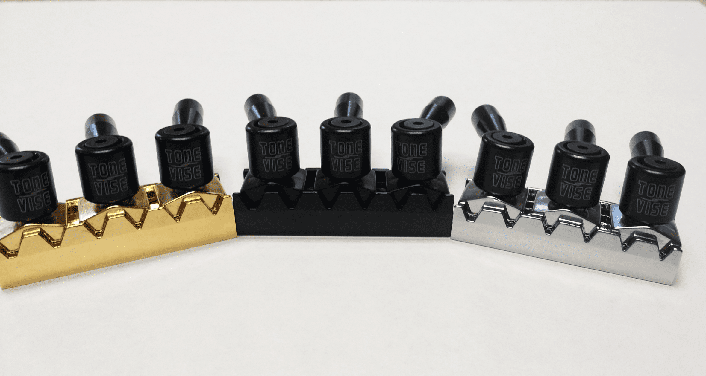 Tone Vice Key Locks in Gold, Black or Chrome