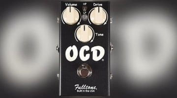 Fulltone OCD v2 CME Exclusive Limited Edition Black