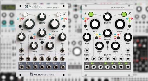 Mutable Marbles and VCV Rack Random Sampler