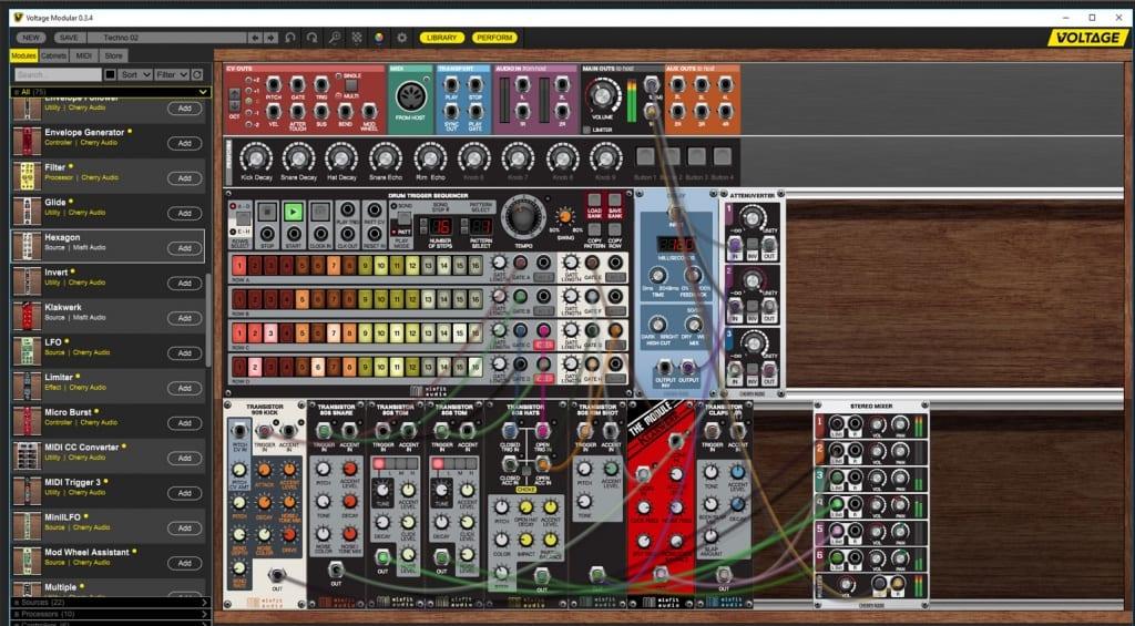 Voltage Modular Misfit Audio modules