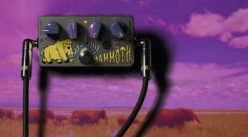 ZVex limited edition Wooly Mammoth Germanium fuzz pedal