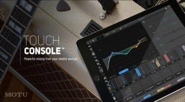 MOTU Touch Console