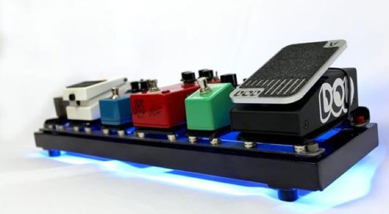EarthBoard pedalboard