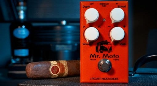 J Rockett Audio Designs Mr. Moto guitar pedal
