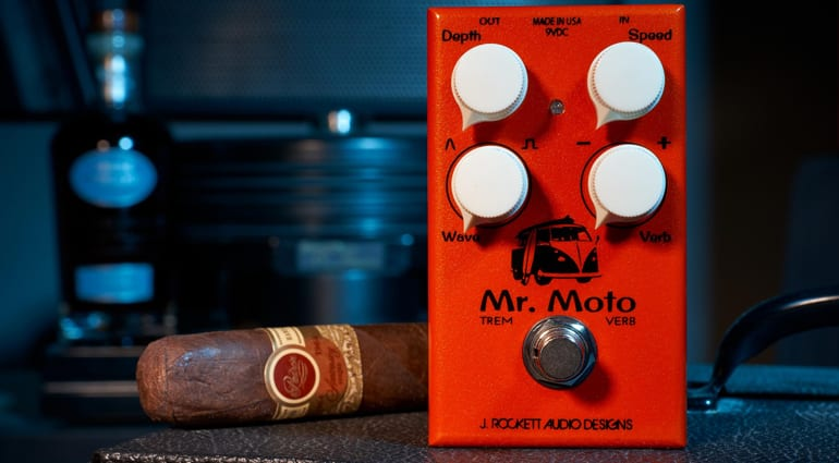 J Rockett Audio Designs Mr. Moto guitar pedal