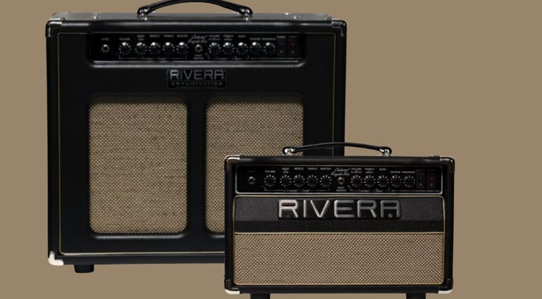 Rivera Clubster Royale Recording guitar amps