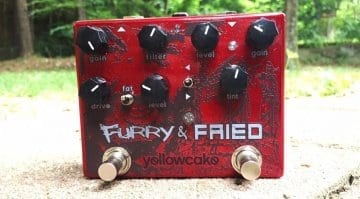 Yellowcake Pedals Furry & Fried pedal
